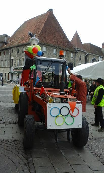 tracteur monsieur carnaval