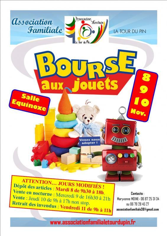 Affiche bourse aux jouets 2