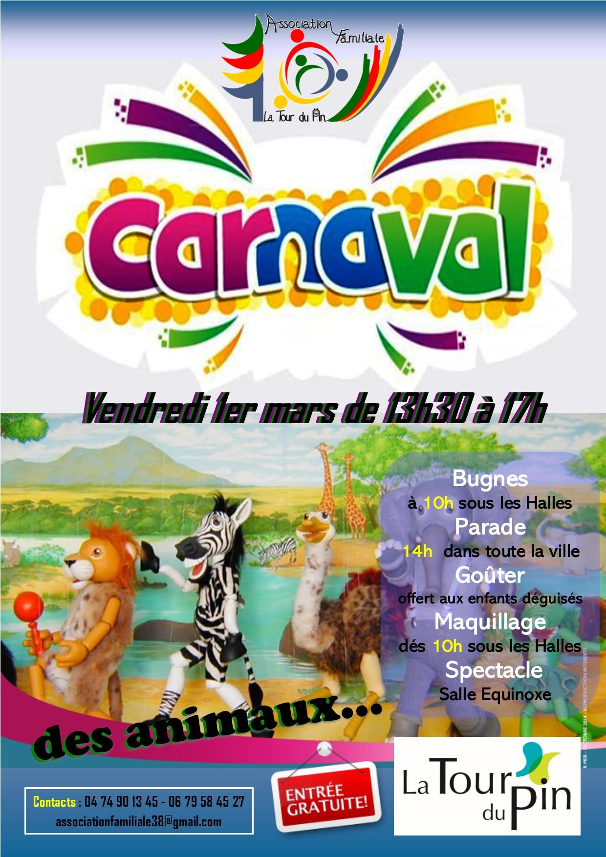 Grand carnaval de la ville