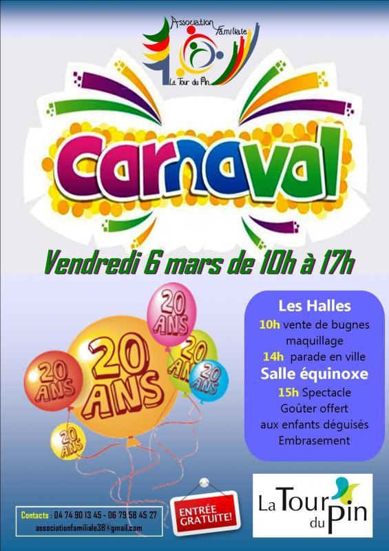 Affiche carnaval 2020 1