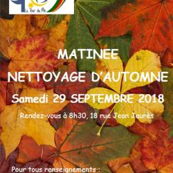Nettoyage nature 12 octobre 2019