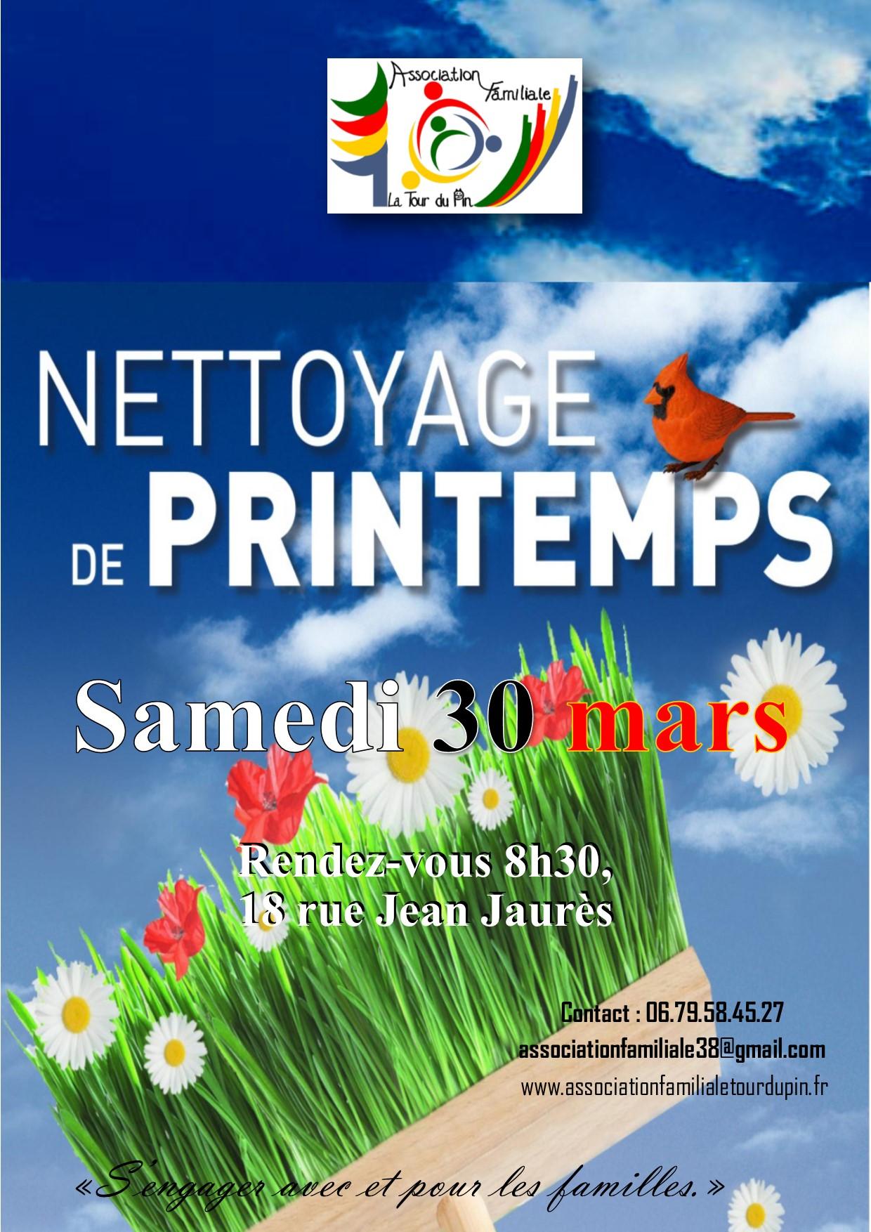Nettoyage Nature de Printemps