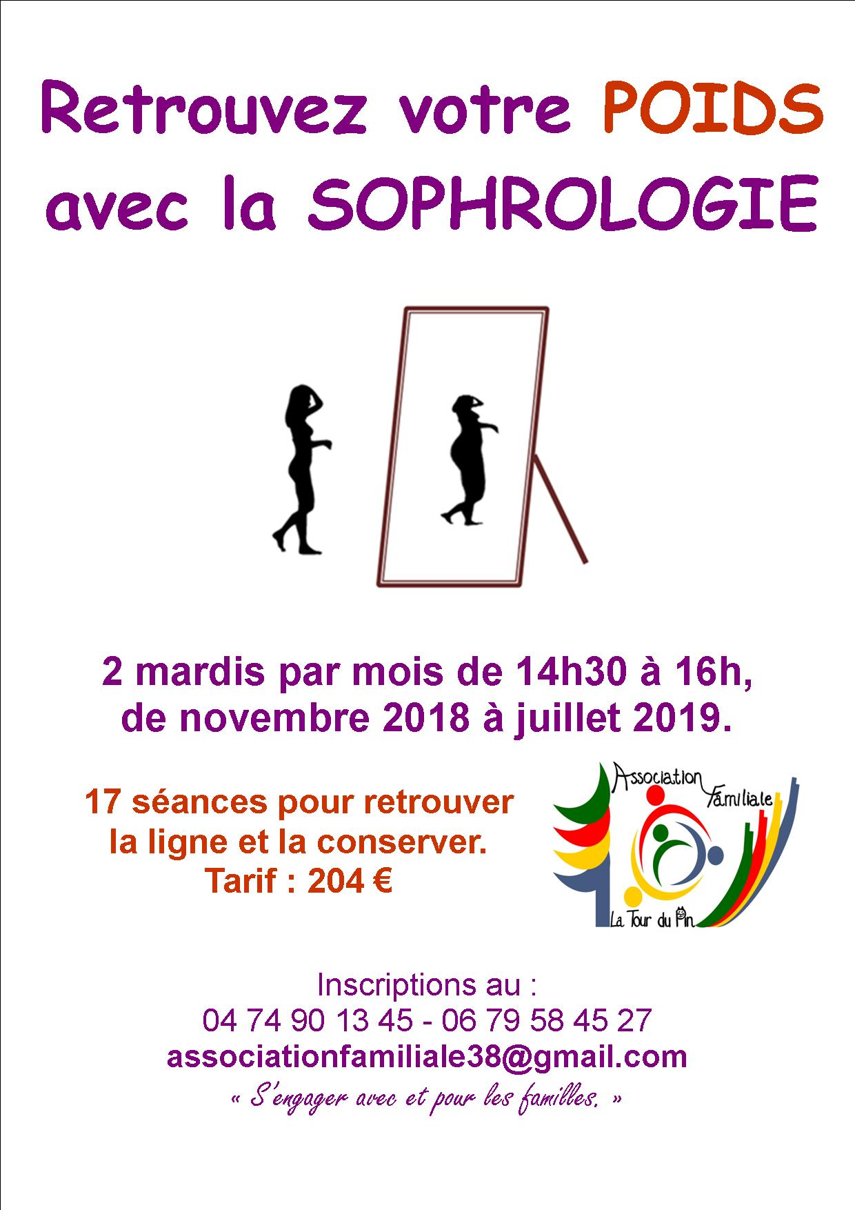 Affiche sophro theme poids 2020
