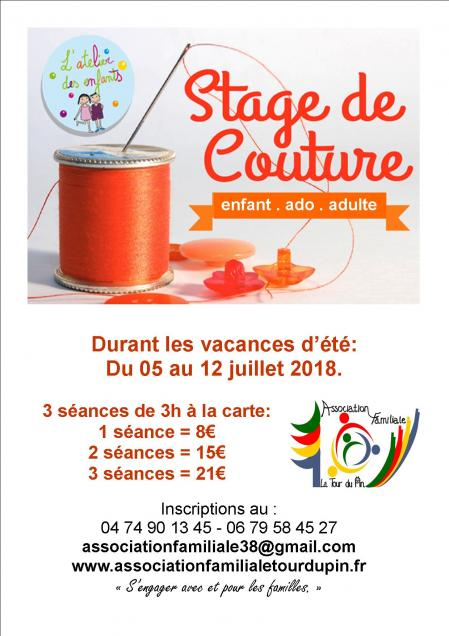 Affiche stage couture avril 2018 steph n 2