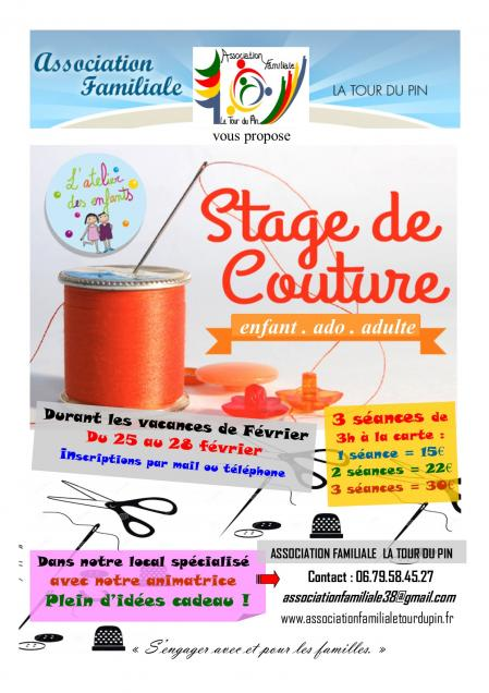 Affiche stage couture fevrier 3