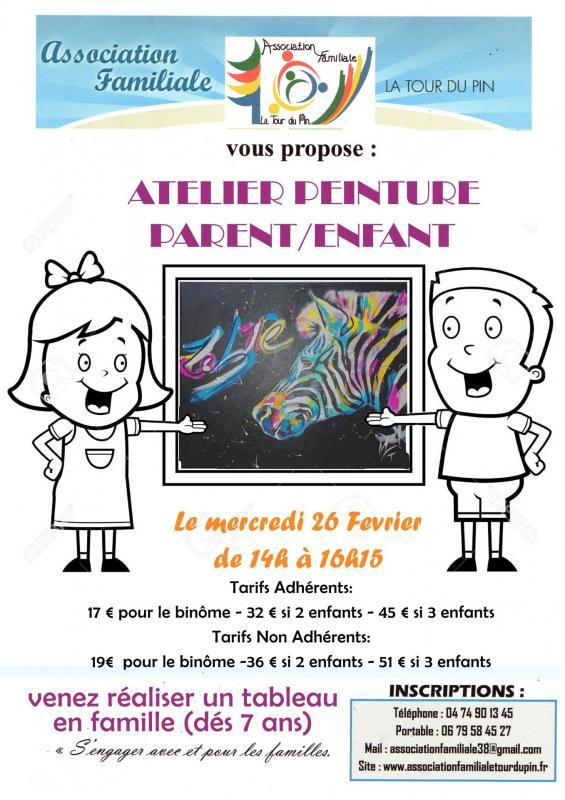 Atelier peinture assofam 26 02 20