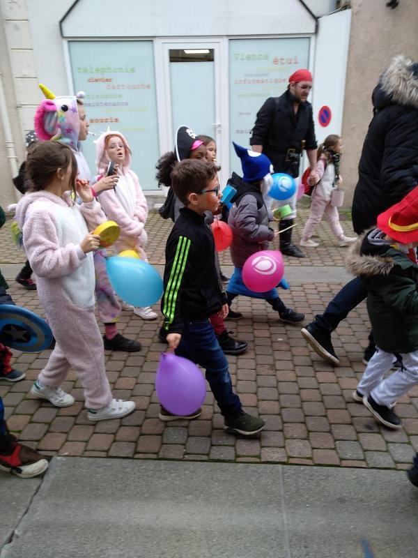 Défilé des enfants Mars 20